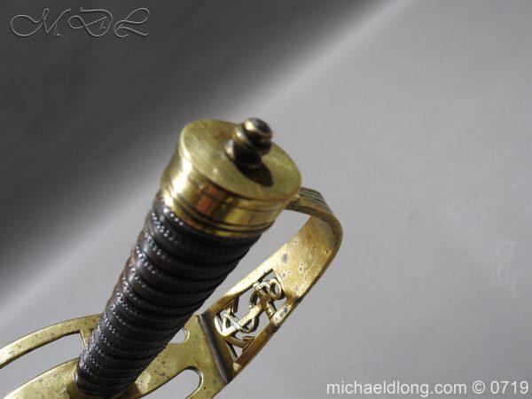 michaeldlong.com 3017 600x450 Georgian Naval Fighting Sword c 1780