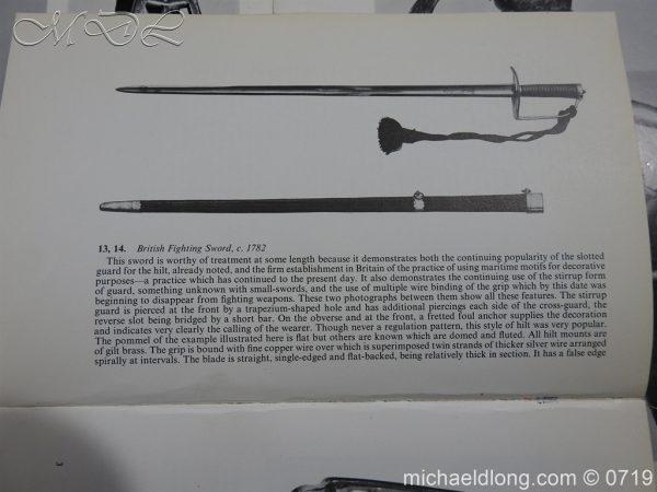 michaeldlong.com 3019 600x450 Georgian Naval Fighting Sword c 1780