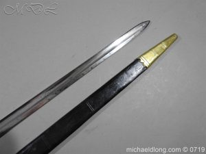 michaeldlong.com 3025 300x225 British 5 Ball Naval Officer's Sword
