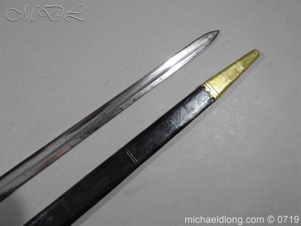 michaeldlong.com 3025 600x450 British 5 Ball Naval Officer's Sword