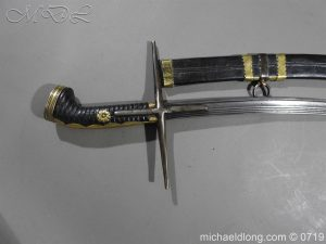 michaeldlong.com 3056 300x225 Polish Hungarian Batorowka Sword dated 1651