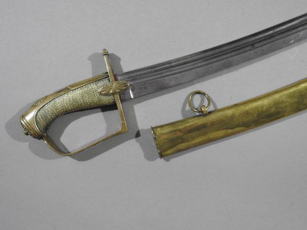 DSCN2966 600x450 French Cavalry Officer's Sword c 1790