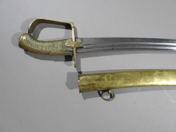 DSCN2970 600x450 French Cavalry Officer's Sword c 1790