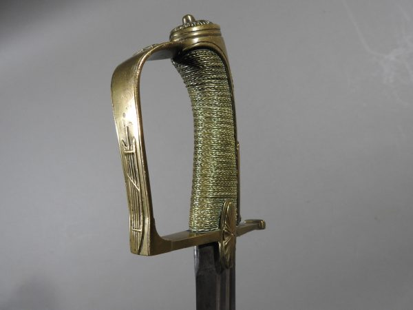DSCN2988 600x450 French Cavalry Officer's Sword c 1790
