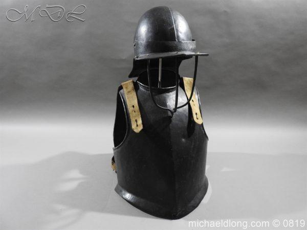 michaeldlong.com 3238 600x450 English Civil War Harquebusier Armour
