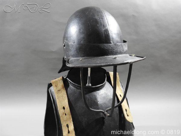 michaeldlong.com 3239 600x450 English Civil War Harquebusier Armour