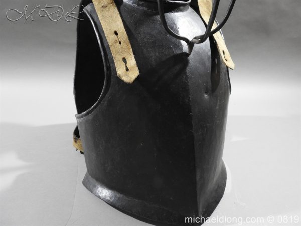 michaeldlong.com 3240 600x450 English Civil War Harquebusier Armour
