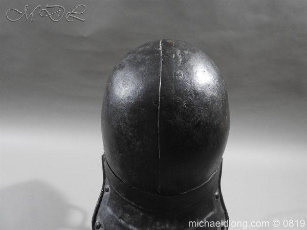 michaeldlong.com 3244 600x450 English Civil War Harquebusier Armour