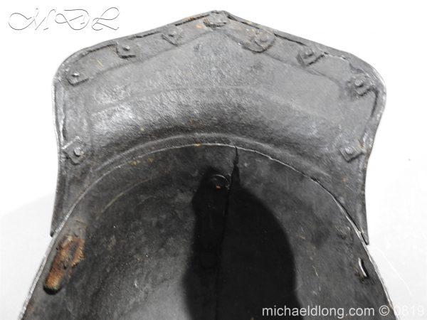 michaeldlong.com 3250 600x450 English Civil War Harquebusier Armour