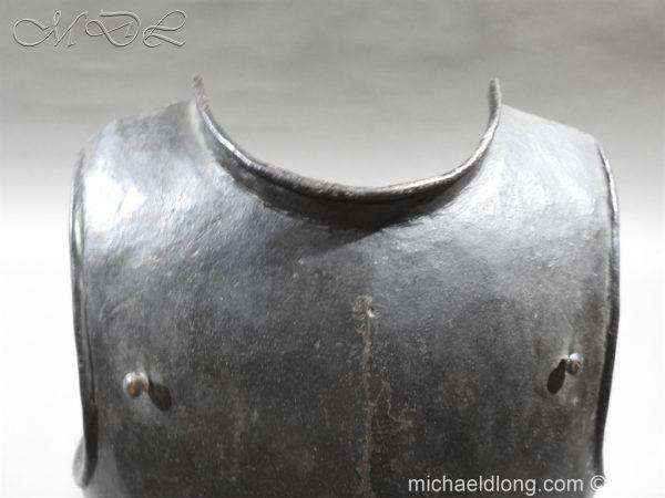 michaeldlong.com 3254 600x450 English Civil War Harquebusier Armour