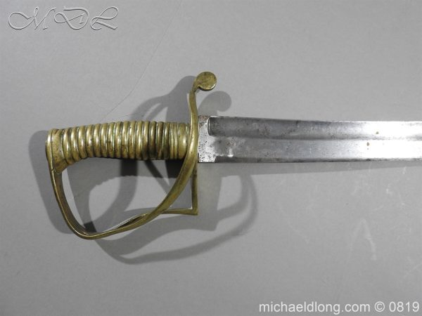 michaeldlong.com 3322 600x450 British Army Hospital Corps Sword c1861