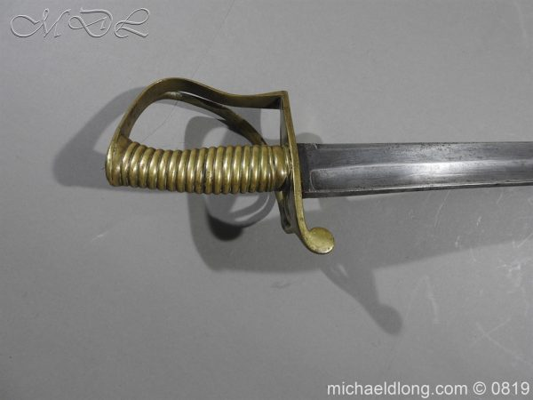 michaeldlong.com 3326 600x450 British Army Hospital Corps Sword c1861
