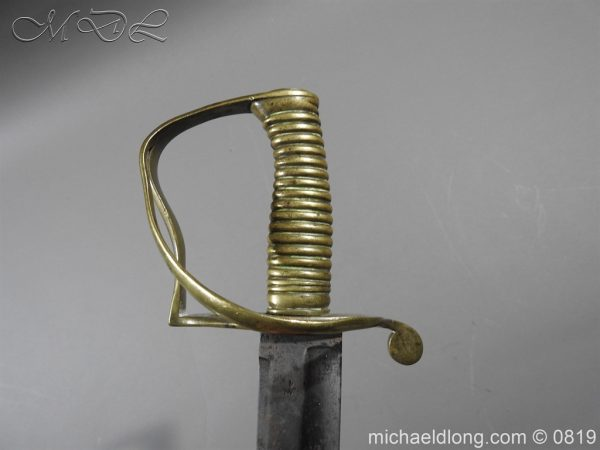 michaeldlong.com 3330 600x450 British Army Hospital Corps Sword c1861