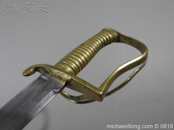 michaeldlong.com 3332 600x450 British Army Hospital Corps Sword c1861