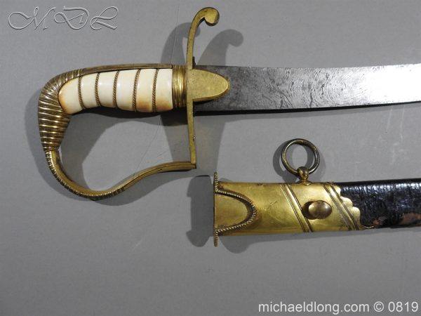 michaeldlong.com 3355 600x450 British Naval Officer's Sword c1800