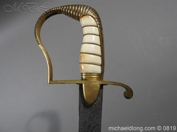 michaeldlong.com 3371 600x450 British Naval Officer's Sword c1800
