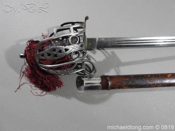 michaeldlong.com 3384 600x450 Scottish Basket Hilt Officer's Sword