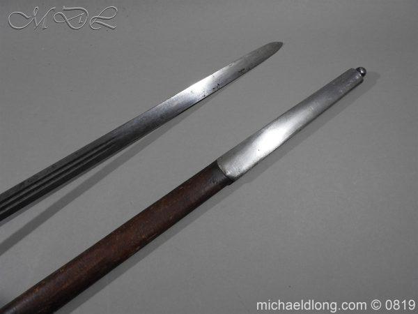 michaeldlong.com 3386 600x450 Scottish Basket Hilt Officer's Sword