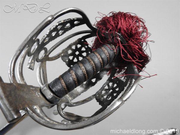 michaeldlong.com 3402 600x450 Scottish Basket Hilt Officer's Sword