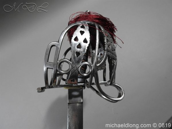 michaeldlong.com 3403 600x450 Scottish Basket Hilt Officer's Sword