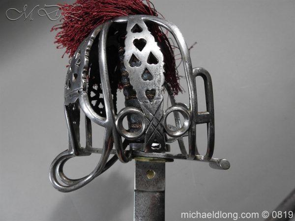 michaeldlong.com 3404 600x450 Scottish Basket Hilt Officer's Sword