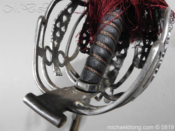 michaeldlong.com 3407 600x450 Scottish Basket Hilt Officer's Sword