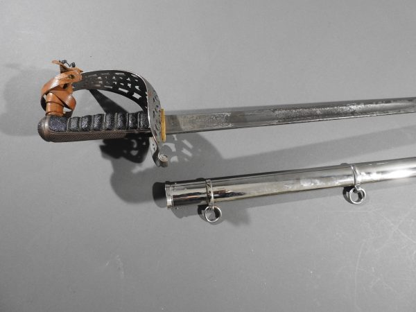 DSCN6586 600x450 British 1887 Heavy Cavalry Sword 2nd Baron Monk Bretton
