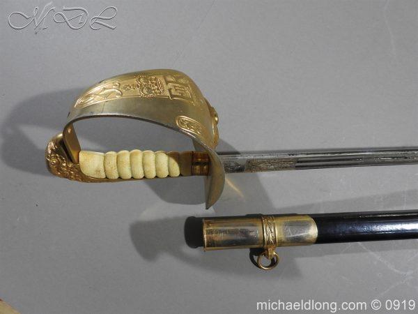 michaeldlong.com 3508 600x450 RAF Officer's Sword ER2