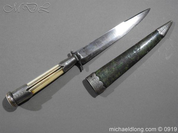 michaeldlong.com 3555 600x450 Georgian Dagger dated 1791