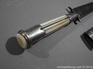 michaeldlong.com 3559 300x225 Georgian Dagger dated 1791