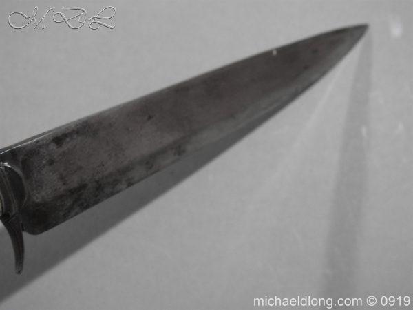 michaeldlong.com 3564 600x450 Georgian Dagger dated 1791