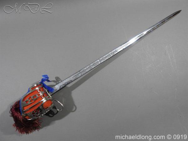 michaeldlong.com 3572 600x450 Scottish ER 2 Basket Hilted Sword by Wilkinson Sword