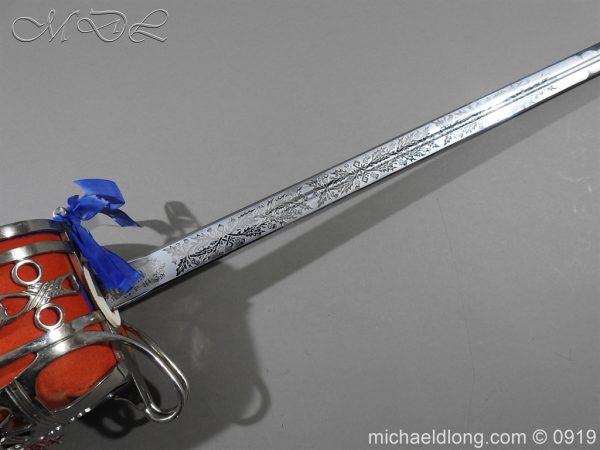 michaeldlong.com 3574 600x450 Scottish ER 2 Basket Hilted Sword by Wilkinson Sword