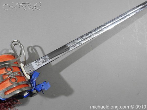 michaeldlong.com 3578 600x450 Scottish ER 2 Basket Hilted Sword by Wilkinson Sword