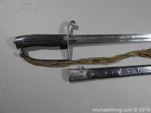 michaeldlong.com 3674 300x225 George 3rd 1788 Officer's Sword