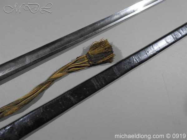 michaeldlong.com 3675 600x450 George 3rd 1788 Officer's Sword