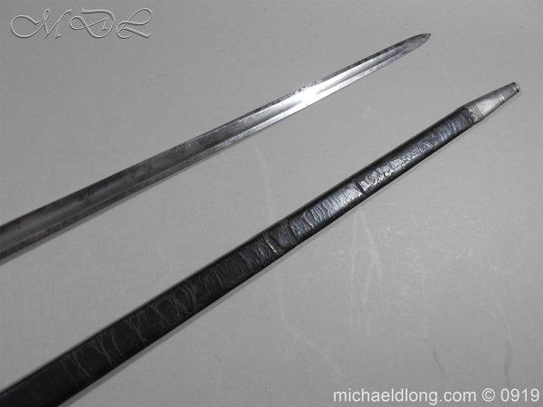 michaeldlong.com 3676 600x450 George 3rd 1788 Officer's Sword