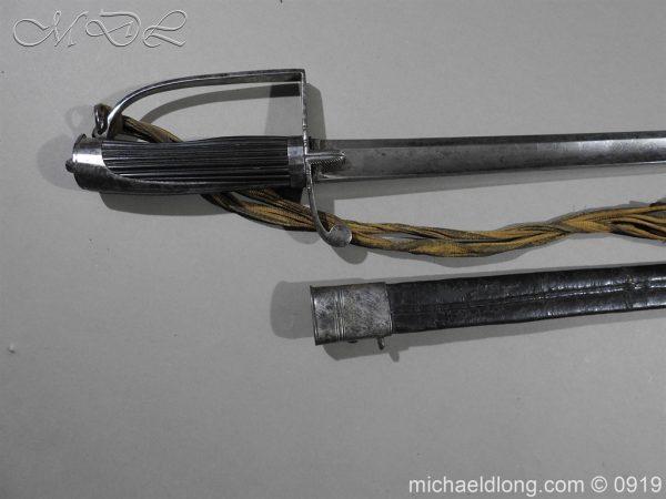 michaeldlong.com 3678 600x450 George 3rd 1788 Officer's Sword