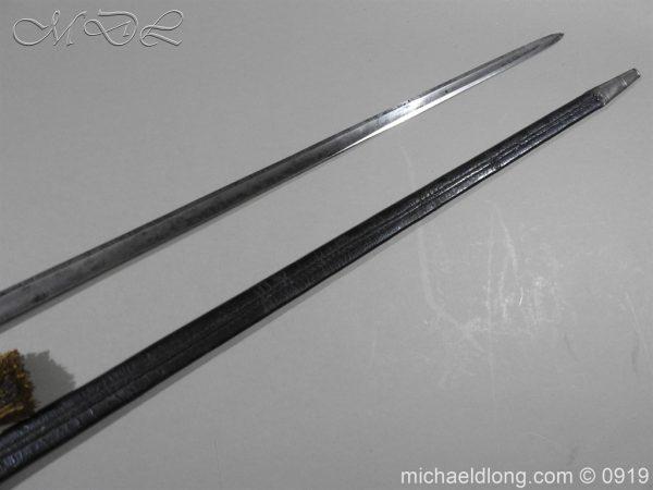 michaeldlong.com 3679 600x450 George 3rd 1788 Officer's Sword