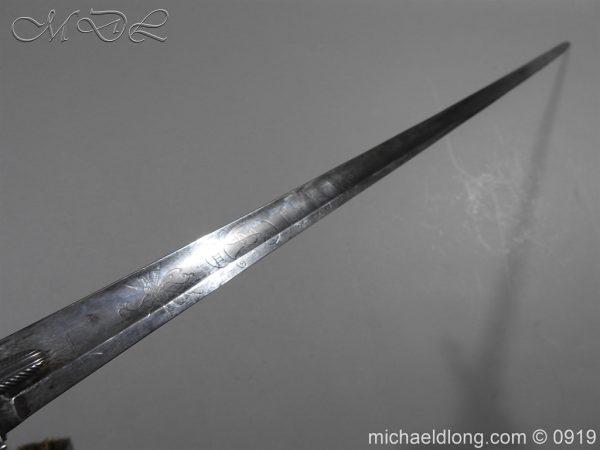 michaeldlong.com 3686 600x450 George 3rd 1788 Officer's Sword