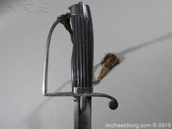 michaeldlong.com 3695 600x450 George 3rd 1788 Officer's Sword