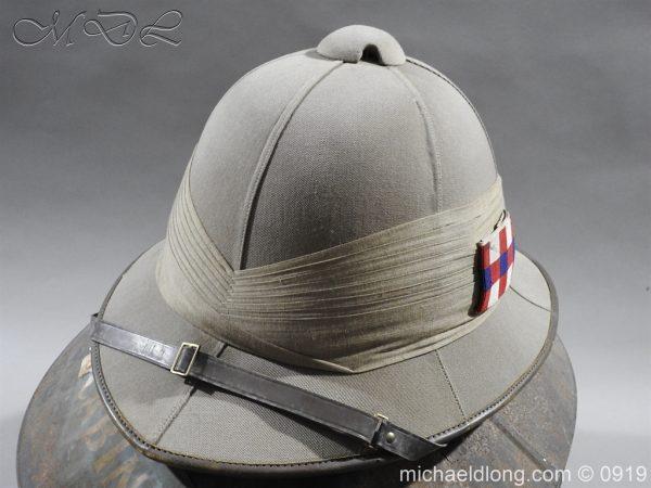 michaeldlong.com 3865 600x450 Scots Guards Officer's Wolseley Helmet