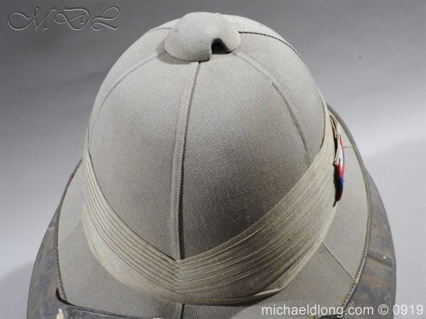 michaeldlong.com 3866 600x450 Scots Guards Officer's Wolseley Helmet