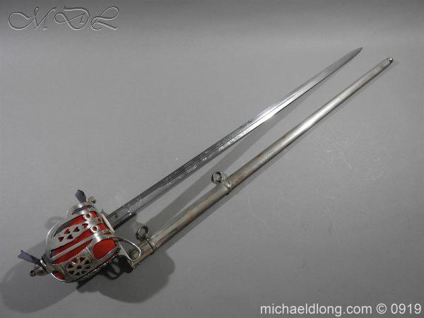 michaeldlong.com 3881 600x450 Scottish KOSB Officer's Sword by Wilkinson
