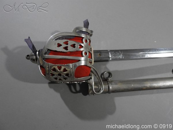 michaeldlong.com 3882 600x450 Scottish KOSB Officer's Sword by Wilkinson