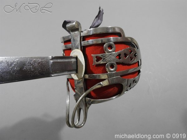 michaeldlong.com 3908 600x450 Scottish KOSB Officer's Sword by Wilkinson