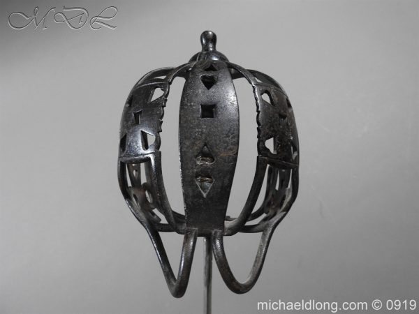 michaeldlong.com 4055 600x450 Scottish Victorian Basket Hilt Sword