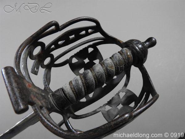 michaeldlong.com 4057 600x450 Scottish Victorian Basket Hilt Sword