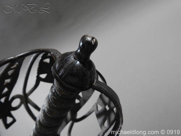 michaeldlong.com 4059 600x450 Scottish Victorian Basket Hilt Sword