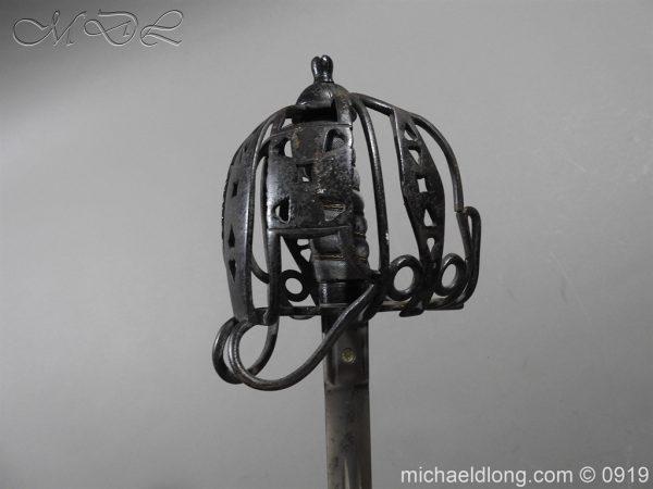 michaeldlong.com 4060 600x450 Scottish Victorian Basket Hilt Sword